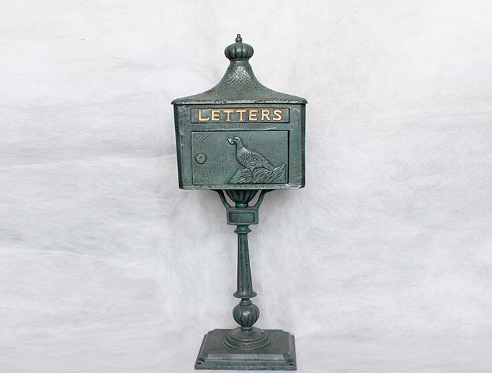 Cast Iron Mail Box AI06261