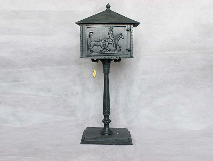 Cast Iron Mail Box AI15571