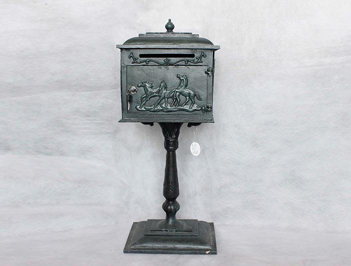 Cast Iron Mail Box AI15572