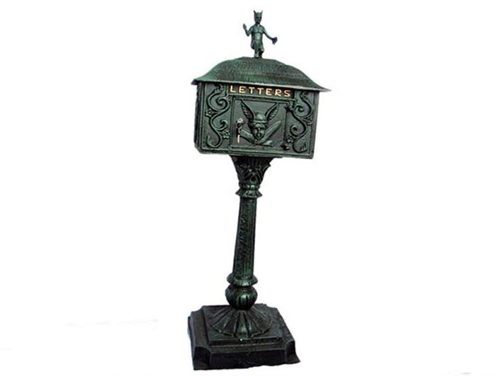 Cast Iron Mail Box AI07460