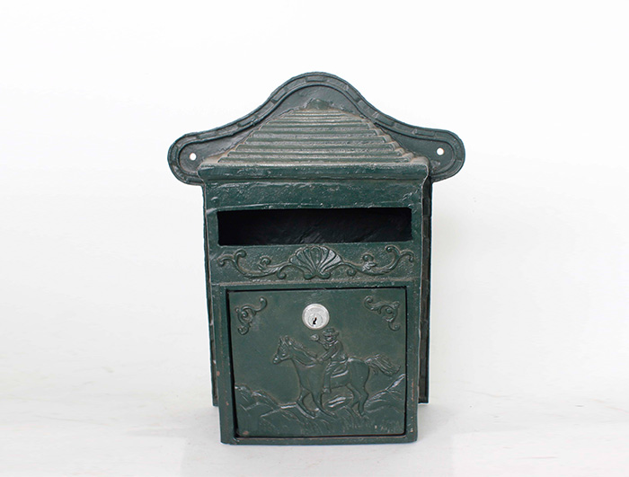 Cast Iron Mail Box AI11486