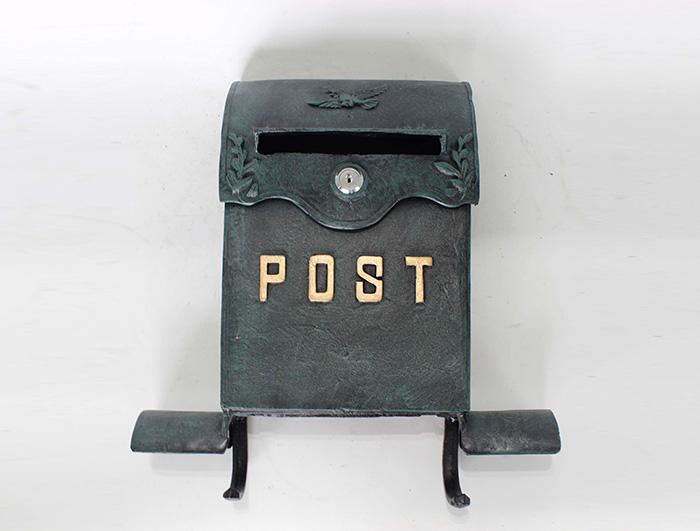 Cast Iron Mail Box AI14234