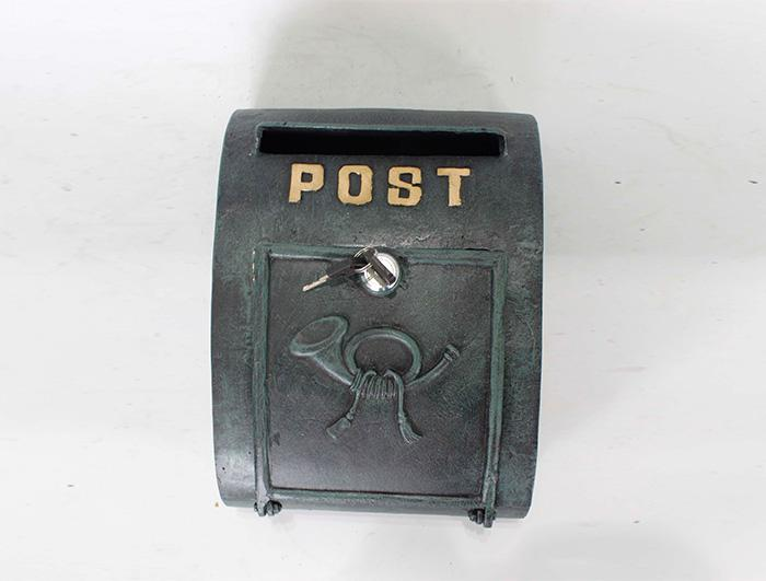 Cast Iron Mail Box AI14628