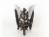 Leaf Shape Candle Holder